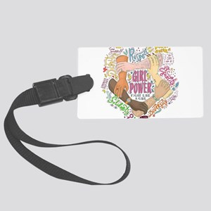 Girl Power Large Luggage Tag